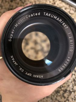 super multi coated takumar 6x7 2.8/150 lens for Sale in Poway,  CA