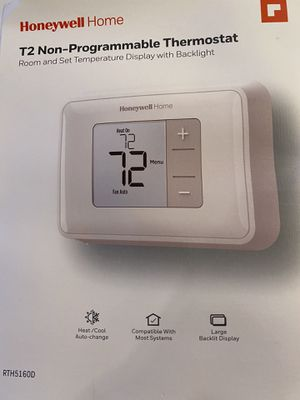 T2 Non-Programmable Thermostat Open box Like New for Sale in La Puente, CA