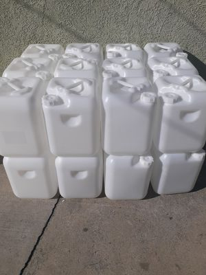 I have 40 Containers for gas oil or diesel $5 each they hold 5 gallons each for Sale in Los Angeles, CA