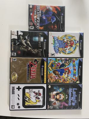 Nintendo GameCube and Wii U games. for Sale in Arlington, TX