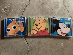 Disney Song and Story CDs for Sale in University Place, WA