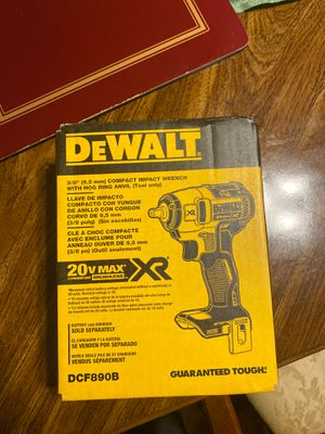 20-Volt MAX Lithium-Ion 3/8 in. Cordless Compact Impact Wrench (Tool-Only) for Sale in NEW CARROLLTN, MD