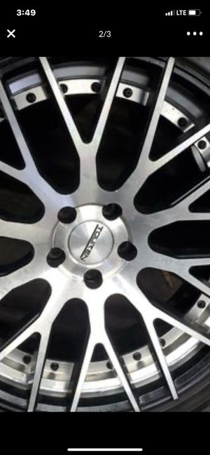 Set of 4 rim and tires 245 35 20 new for Sale in Laveen Village, AZ
