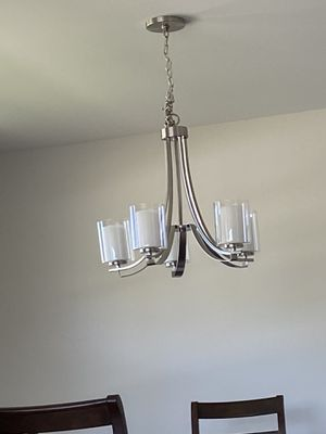 Chandelier light fixture for Sale in Oak Lawn, IL