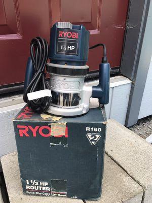 Ryobi router for Sale in Leavenworth, WA