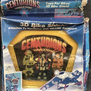 VERY RARE - BRAND NEW 1986 centurions 3D bike shield toys for bikes for Sale in Yorba Linda, CA
