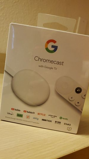 Chromecast WITH GOOGLE TV for Sale in Puyallup, WA
