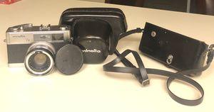 Minolta Hi-Matic 7S 35mm Film Camera Rokkor Lens w/Case -7S Vintage for Sale in Lake Tapps, WA