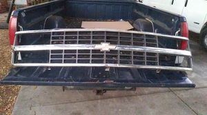 93 Chevy Silverado C 1500 front grill minor wear and tear but all intact no broken parts for Sale in St. Petersburg, FL