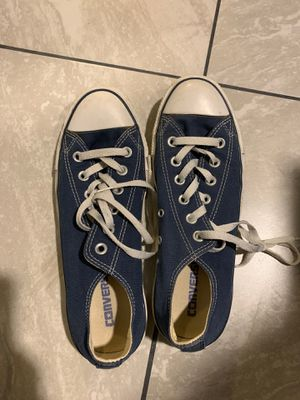 Women's navy converse size 8.5 for Sale in North Las Vegas, NV