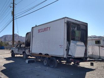 86 Dodge Truck And 1 Box Trailer And 1car Trailer for Sale in Las Vegas,  NV