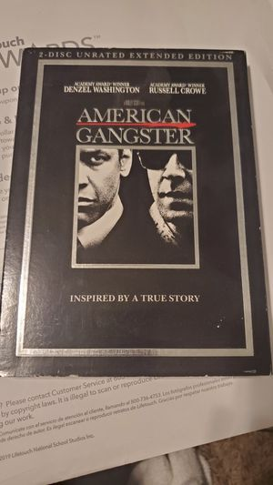 American gangster DVD for Sale in Swanton, OH
