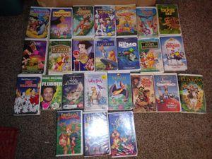 VHS TAPES for Sale in Bartonville, IL