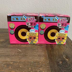 2 Lol Surprise Doll Remix Hair Flip 15 Surprises Plays Music for Sale in Seattle, WA
