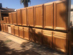 Kitchen cabinets maple for Sale in Phoenix, AZ
