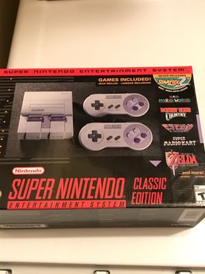 Super Nintendo classic edition for Sale in Dallas, TX