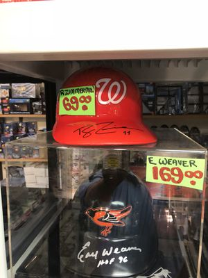 Ryan Zimmerman Autographed Washington Nats (Replica) Batting Helmet! A beautiful affordable piece for Sale in Fairfax, VA