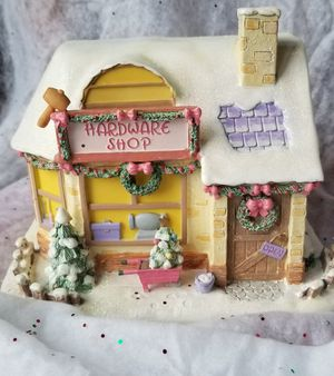 Hawthorne Lighted Precious Moments Christmas Village for Sale in Toms River, NJ