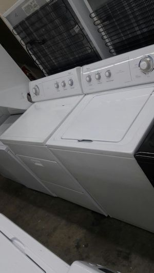 """27""""width whirlpool top load washer and dryer set for Sale in Fort Washington, MD"""