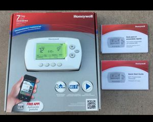 Honeywell WiFi Thermostat - free iOS & Android app for Sale in Santa Clara, CA