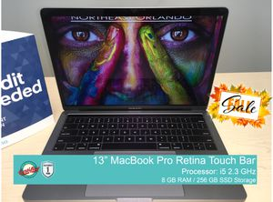 MacBook Pro Retina Touch Bar for Sale in Orlando, FL