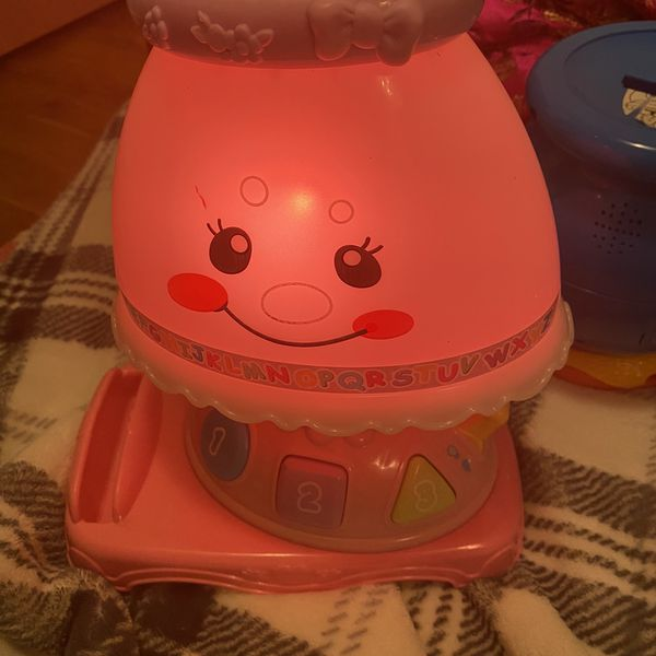 Fisher Price My Pretty Lamp With Book for Sale in Des ...