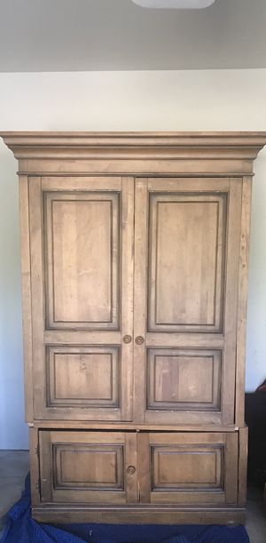 Ethan Allen Solid Wood Media Storage/ Armoire for Sale in Grovetown, GA