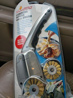 cordless power grill brush for Sale in Pickens, SC