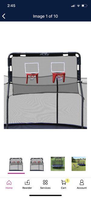 Skywalker Trampolines Double Basketball Hoop for 12' Trampolines for Sale in Phoenix, AZ