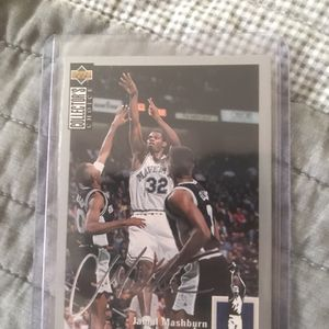 A Signed Jamal Mashburn Upper Deck 1994 for Sale in Enumclaw, WA