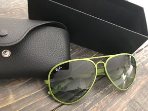 Ray Ban Liteforce metallized Green Sunglasses RB4180 6086 8E for Sale in Orlando, FL