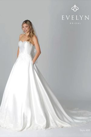 Evelyn Bridal Wedding Dress - Size 10 (12) for Sale in Greenville, SC