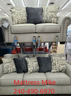 New In Stock Ashley Furniture Sofa And Loveseat 2pc Set for Sale in College Park,  MD