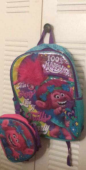 Trolls bookbag for Sale in Clermont, FL
