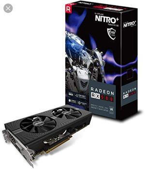 Sapphire Nitro+ Rx580 8gb - Never used for Sale in Los Angeles, CA