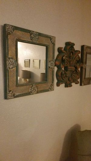 Blue mirrors, 2 of the same for Sale in WA, US