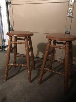 Two Breakfast Table Stools $40 for Sale in Auburn,  WA
