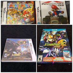 Video games Wii U Nintendo DS for Sale in Brandon, FL