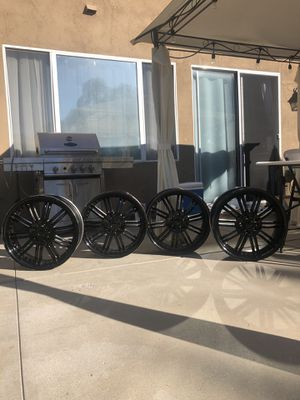 Black rims for Sale in San Marcos, CA