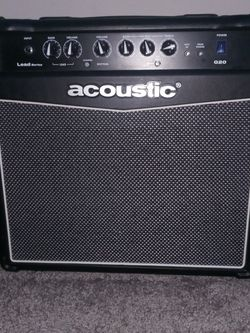 Acoustic Lead Guitar G20 Amplifier (Cord Included) (Working Perfectly) for Sale in Garden Grove,  CA