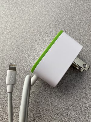 6 foot belkin 12 watt lightning cord charger for Apple iPhone iPad iPod perfect! for Sale in Littleton, CO