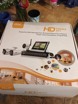 Bnt Cameras kit NEW for Sale in Glynn, LA