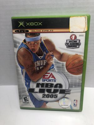 XBOX NBA Basketball LIVE 2005 No Manual for Sale in Los Angeles, CA