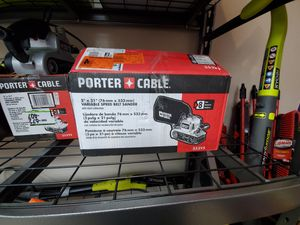 Porter Cable belt sander only 60$!!! for Sale in Fort Worth, TX