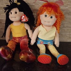 Bundle Of 2 ty Beanie Bopper Dolls for Sale in Lakeville, MN