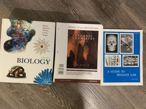 Chem/bio books for Sale in Clearwater, FL