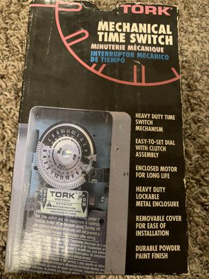 Tork time clock for Sale in El Cajon, CA