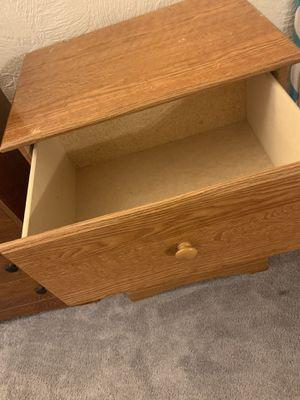 Wooden 3 drawer dresser for Sale in Fort Lauderdale, FL