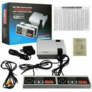 New in box generic classic like nintendo game console built in 620 classic games with 2 controllers included for Sale in Pico Rivera, CA