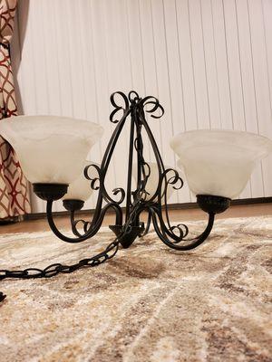Black ceiling chandelier for Sale in Braintree, MA